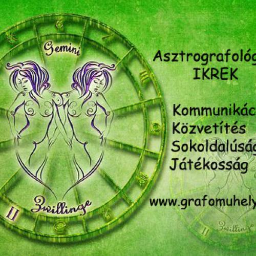 Asztro-grafológia: Grafológia és egészség (5. rész) A testrészek és a jegyek kapcsolata (Ikrek)