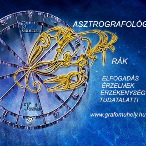 Asztro-grafológia: Grafológia és egészség (6. rész) A testrészek és a jegyek kapcsolata (Rák)