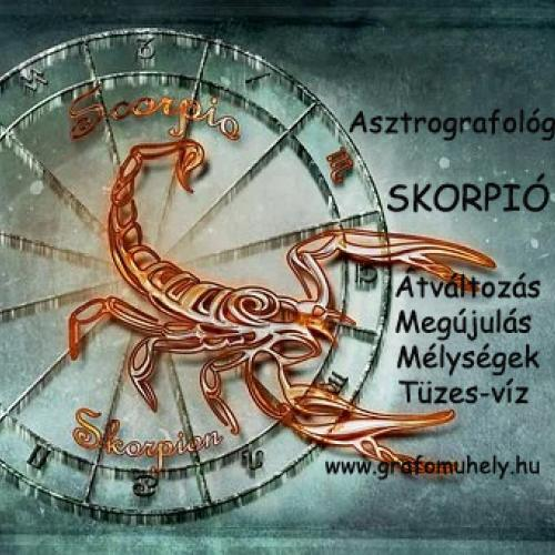 Asztro-grafológia: Grafológia és egészség (10. rész) A testrészek és a jegyek kapcsolata (Skorpió)
